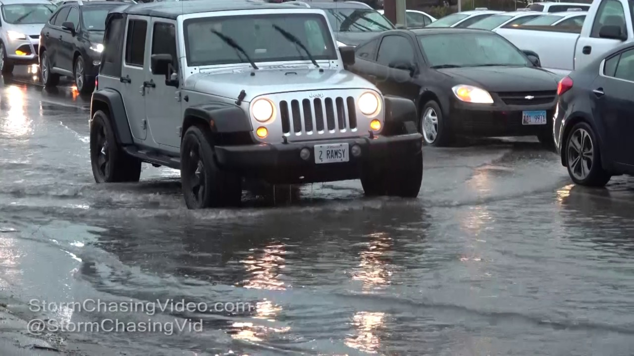 High water strands drivers as storms move across Houston area