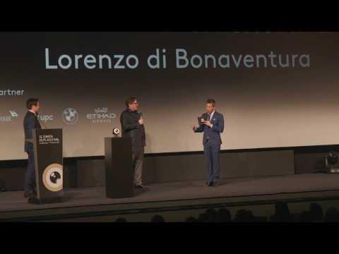 Lorenzo di Bonaventura – Career Achievement Award at 12th ZFF