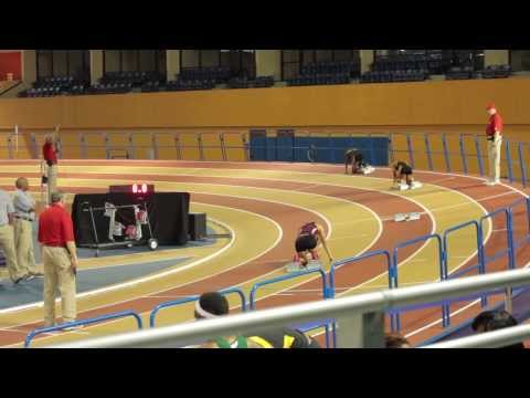 SWAC 2014 Indoor Womens Championship 400M / 200M FINALS Feb 24 2014 | WHITNEY MCDONALD