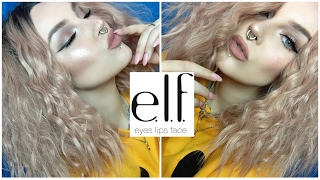 full face of e.l.f./review & demo/everyday makeup tutorial | itslikelymakeup