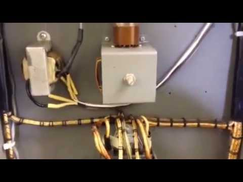 Collins 20V Broadcast Transmitter.  Antenna relay installation, K7PP Page