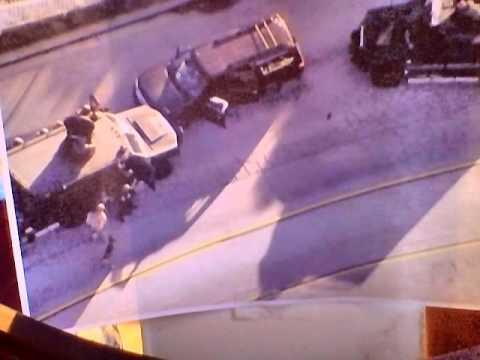 San Bernardino police audio of Terrorist Pursuit