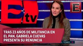 Entrevista exclusiva con la senadora Gabriela Cuevas