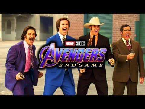 Anchorman - Fight Scene RESCORED With Avengers: Endgame