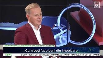 """Octavian Bădescu: """"Cum faci bani din imobiliare?"""" la Canal 33"""