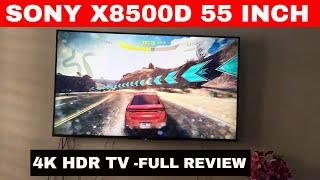 Sony x8500d series kd55x8500d 55 inch 4K HDR TV
