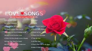 Classic Love Songs 70's 80's 90's 💦 Most Old Beautiful Love Songs 80's 90's  💦
