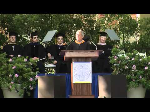 Ron Meyer speaks at TFT Commencement 2012