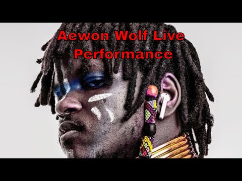 """Aewon Wolf Introduces New """"Future Africa"""" act (Live Performance)"""