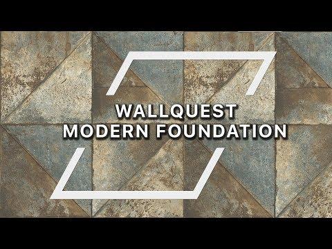 Коллекция Modern Foundation от бренда WALLQUEST