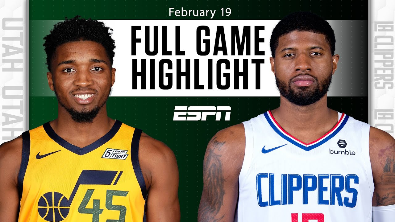 Utah Jazz vs. LA Clippers [FULL GAME HIGHLIGHTS]   NBA on ESPN