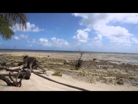 Tuvalu Funafuti conservation area  Ile Quafatu / Tuvalu Quafatu island