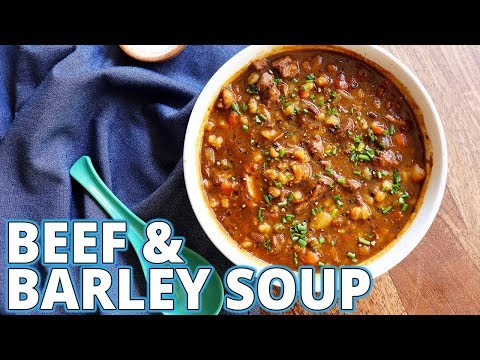 Beef And Barley Stew Recipe (comedy Cooking)