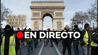 🔴 EN DIRECTO: Protestas en París: Cuarto fin de semana de protestas de los