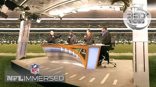 Rich Eisen & Behind the Scenes of NFL Network (360 Video) | Ep. 6 | NFL Immersed