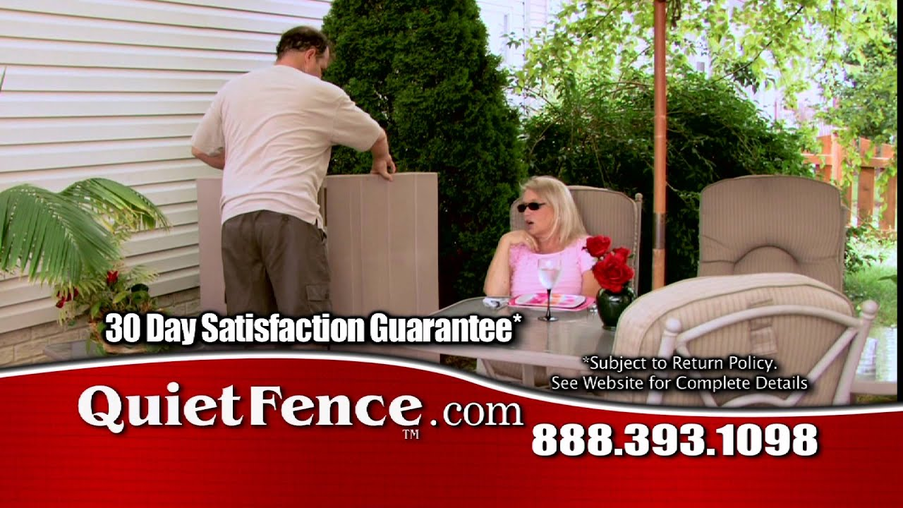 how to get rid of air conditioner noise with quiet fence youtube