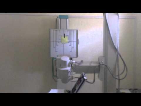 X Ray Machine First Run And Tube Calibrating