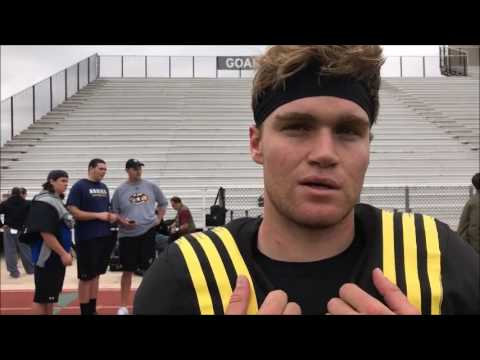 Ohio State QB commit Tate Martell at Army Bowl practice 1/5/17 - ELEVENWARRIORS.COM