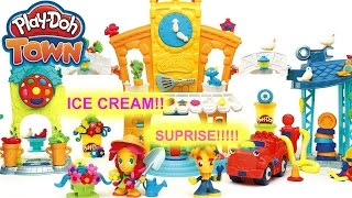 Unbelievable!!??? Playdoh Town Toy Ice cream comes alive!!!!!