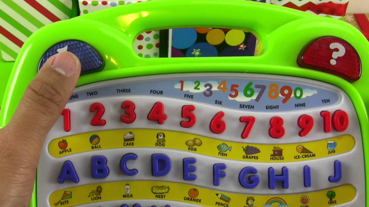 Learning is Fun with Megcos Alphabet Board Musical Toy