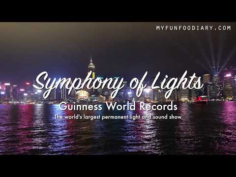 A Symphony of Lights & Pulse 3D Light Show Hongkong - VLOG Myfunfoodiary