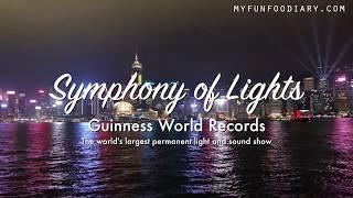 A Symphony of Lights & Pulse 3D Light Show Hongkong - VLOG Myfunfoodiary