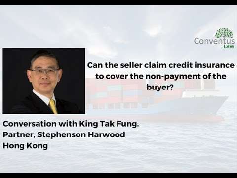Shipping Law - Can the seller claim credit insurance to cover the non-payment of the buyer?