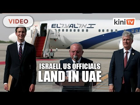 Israeli, US Officials Land In UAE To Finalise Open Relations
