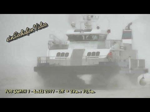 speedboat FOB SWATH 1 OXLM2 IMO 9579078 Emden offshore support crewboat