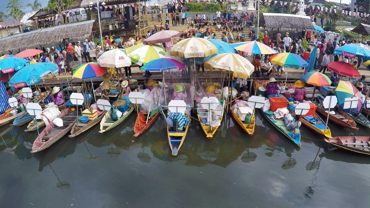 Image result for floating market hatyai