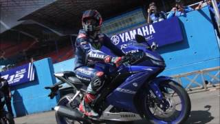Video Yamaha R15 V3 2017 Engine Sound & Top Speed Video 144 KMPH download MP3, 3GP, MP4, WEBM, AVI, FLV April 2018