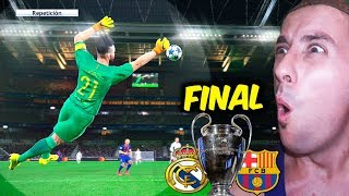FINAL Champions League REAL MADRID VS FC BARCELONA LA FINAL DE MIS SUEÑOS!!! | PES 2017 BAL