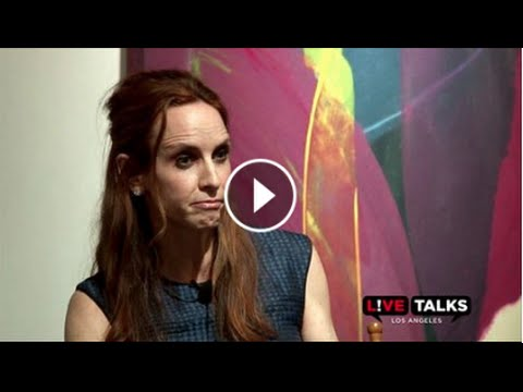 Faith Salie in conversation with Annabelle Gurwitch