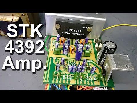 DIY Audio Amplifier Board STK 4392 IC कैसे बनाएं