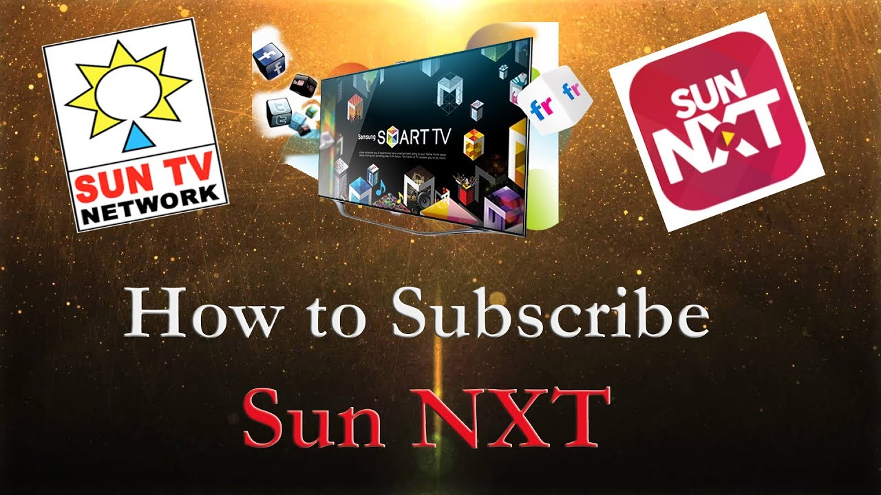 How to subscribe SUN NXT