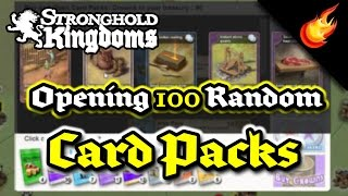 Stronghold Kingdoms - Opening 100 Random Card Packs