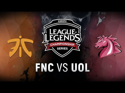 FNC vs. UOL - Week 9 Day 2 | EU LCS Summer Split | Fnatic vs. Unicorns of Love (2018)