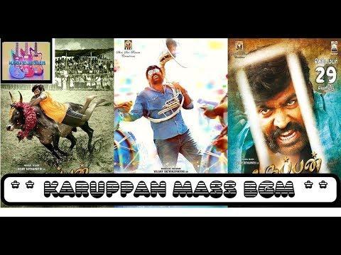 "Jallikattu(Karuppan)Mass BGM-""Makkal Selvam""Vijay Sethupathi Rocks! Movie Link In Description!"
