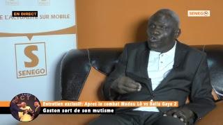 REVIVEZ: Entretien exclusif avec Gaston Mbengue… Regardez