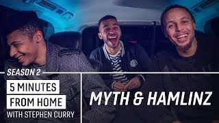 ESPORTS vs THE NBA - Myth & Hamlinz Break It Down with Stephen Curry | 5 Minutes from Home