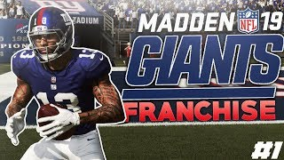 Madden 19 New York Giants Franchise Ep. 1 | Starting the Rebuild