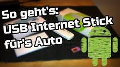 USB Internet Stick im Auto Android Radio - so gehts! HUAWEI E8372 WiFi/WLAN LTE Modem