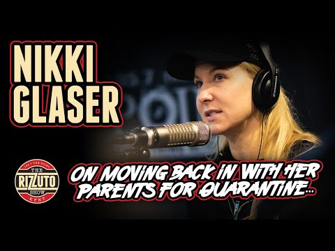 NIKKI GLASER joined us on Skype! Talks rent in NY, quarantine with her parents [Rizzuto Show]