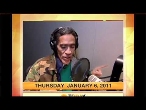 Ted Williams kicks off the Today Show- Homeless Man with Golden Voice