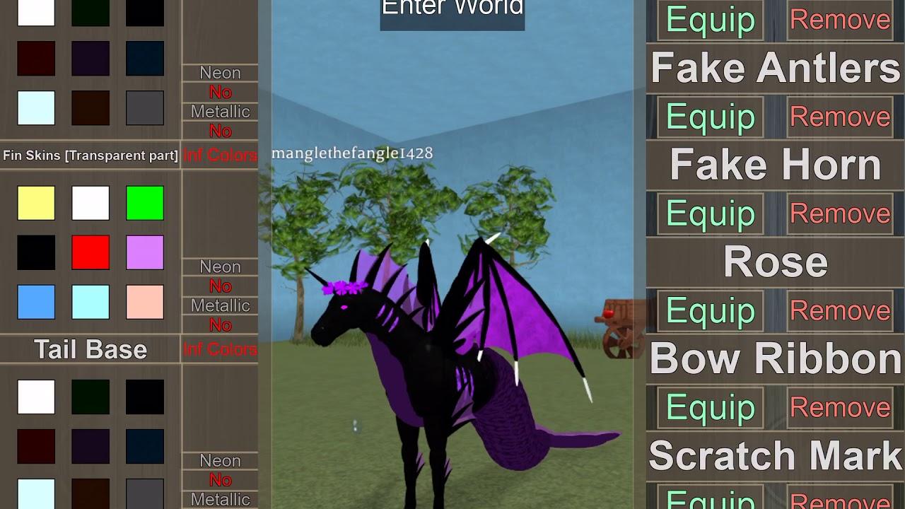 Horse World All Gamepass Horses So Far Youtube