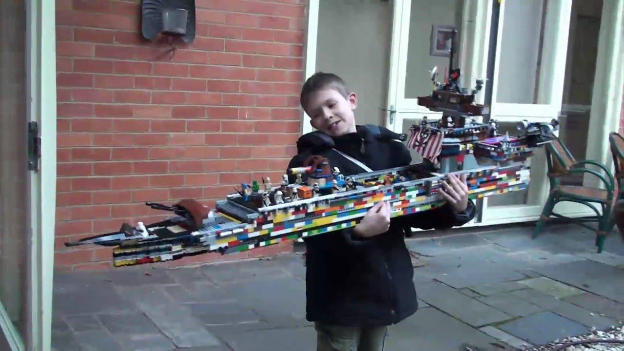 Big Lego Ship YouTube - Biggest lego ship