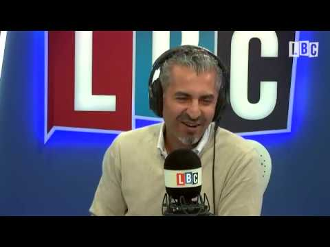 Maajid Nawaz responds to caller's claims of Islamic takeover (LBC)