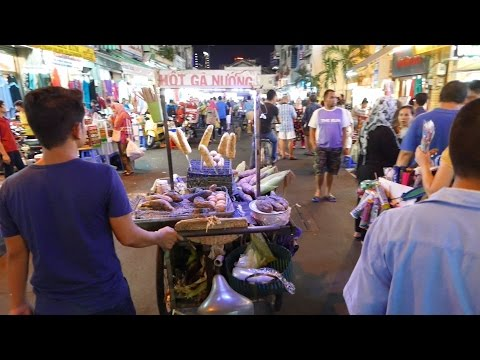 2015 Saigon  Downtown - Streets & Alleys District 5 to 1 - Vietnam Trip