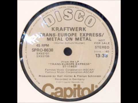 Kraftwerk - Europe Endless / Trans-Europe Express / Metal on Metal (12-Inch Promo) [1977]