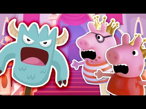 bedtime-story-for-peppa-and-her-brother-george- -piggy's-family-for-kids